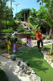 have fun under the sun in the great mini golf campus of golf