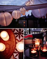ikea balcony lighting ideas