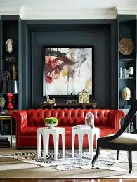 How To Decorate Living Room With Red Sofa by How To Decorate With Red For Every Room Of The House