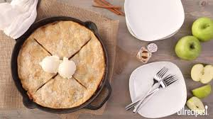 grandma u0027s iron skillet apple pie recipe allrecipes com