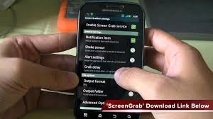 android how to take a screen capture on any device
