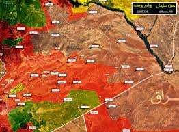 Beirut On Map Map Field Report Military Situation In Eastern Syria June 27