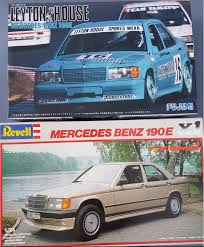 1990 mercedes benz 190e 2 3 16v u2013 revell fujimi rays kits