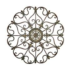 French Country Wall Art - large fleur de lis themed bronze metal wall art french country