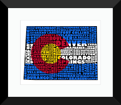Craig Colorado Map by Specialty Prints Archives Map My State