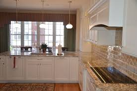 Kitchen Sink Frame by Classic Kitchen Cabinets Converted Bell Jar Pendant Lights