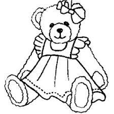 teddy bear coloring color luna