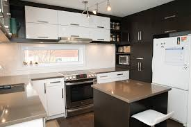 cuisine brun et blanc cuisine cuisine blanche shaker cuisine blanche shaker cuisine