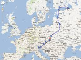 Norwegian Air Route Map by St Petersburg To Venice U2014 The Amber Route Chris And Margo U0027s