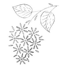 Flower Designs For Embroidery Free Embroidery Pattern A Bunch Of Little Flowers Embroidery