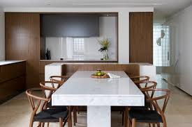 Marble Dining Table Sydney Sydney Marble Dining Table Room Contemporary With Custom Bar