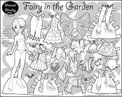 marisole monday u0026 friends mia as a fairy in the garden u2022 paper