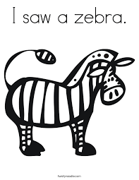 zebra coloring twisty noodle