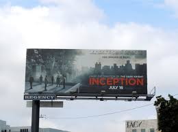 daily billboard bonus week inception movie billboards