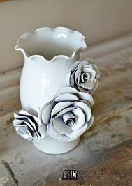 How To Make A Decorative - create a decorative flower vase with paper how to make a