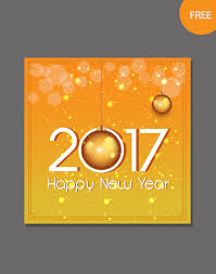 new year card templates free editable vector free for new year