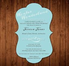 Winter Wonderland Baby Shower Winter Wonderland Baby Shower Invitations Cimvitation