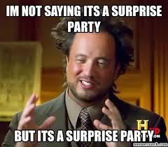 Meme Surprise - party