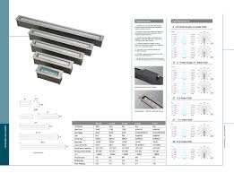in ground linear light national led