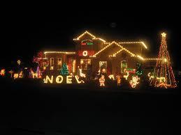 christmas light house christmas lights decoration