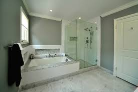 Benjamin Moore Gray Bathroom - master bath transitional bathroom los angeles by la dwelling
