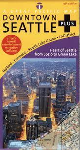 Map Of Greenlake Seattle by Seattle Map Seattle Downtown Plus Road Recreation U0026 Transit Map