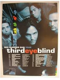 third eye blind promo poster band summer sun tour 3rd 3eb
