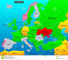 Belgium Map Europe by Political Map Of Europe Royalty Free Stock Photo Image 37406585