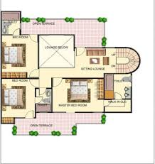 Luxury Bungalow Designs - bungalow house plans bungalow map design floor plan india