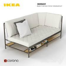 ekebol sofa for sale 3d models sofa ekebol ikea