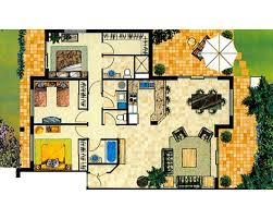3 bedroom floor plans apartment floor plans turtle resort