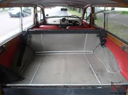 Mini Morris Interior Classic 1969 Morris Minor Traveller Woody Old English White With
