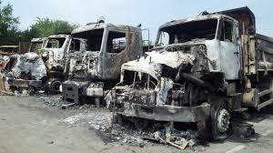 eurovia si e social limoges dix engins d eurovia vinci en flammes attaque