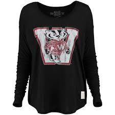 wisconsin sleeve t shirts sleeved shirt bucky s