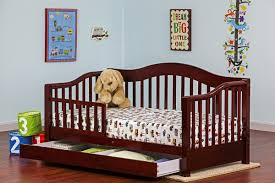 Toddler Bed With Rail Dream On Me Toddler Bed With Storage U0026 Reviews Wayfair
