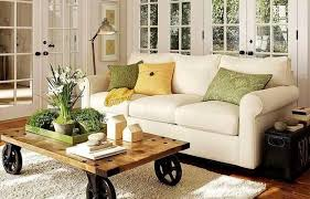 Ideas For Coffee Table Centerpieces Design Creative Idea Bbeautiful Living Room With Whte Sofa Near Vintage