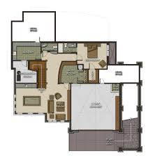 the spanish peaks floor plan by canadian timberframes ltd timber