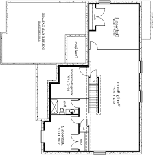 34 5 bedroom home plans with basement plan ranch floor plans