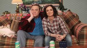 john goodman and sara gilbert reunite on u0027the talk u0027 cbs san