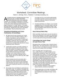 resources for all committees the governance institute