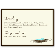 baby shower registries registry cards for baby shower we like design