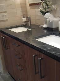 25 Inch Vanity Bathroom Sink Countertop Sink Dark Granite Countertops Stone