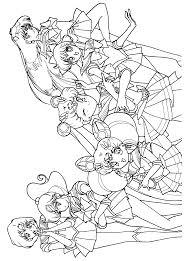 sailor moon coloring pages 04 sailor moon sailor