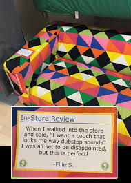 trending man leaves amazing fake customer reviews around his