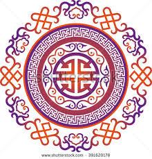 vector ornament asian traditional stock vector