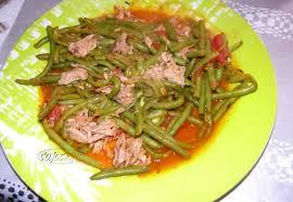 cuisiner des haricots verts frais poelee de haricots verts au thon les petits plats dans les grands