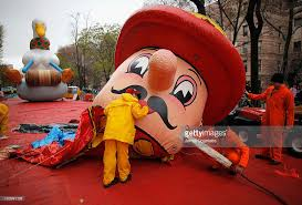 85th annual macy s thanksgiving day parade inflation photos
