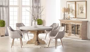 concrete top dining table bastille round dining table top