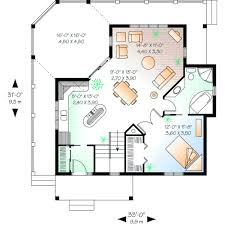 1 bedroom cottage floor plans style house plans 840 square foot home 1 story 1