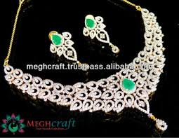 gold zirconia necklace images American diamond jewellery wholesale cubic zirconia necklace set jpg